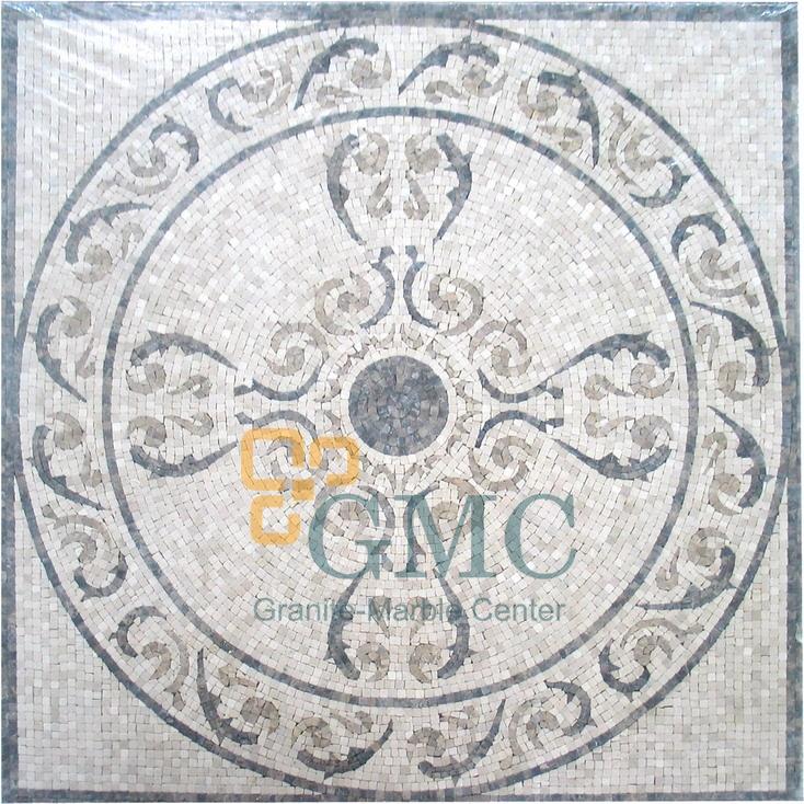 HOA VĂN MOSAIC ĐÁ HOA CƯƠNG GMC  127